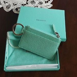 Tiffany and company mini wallet/keychain
